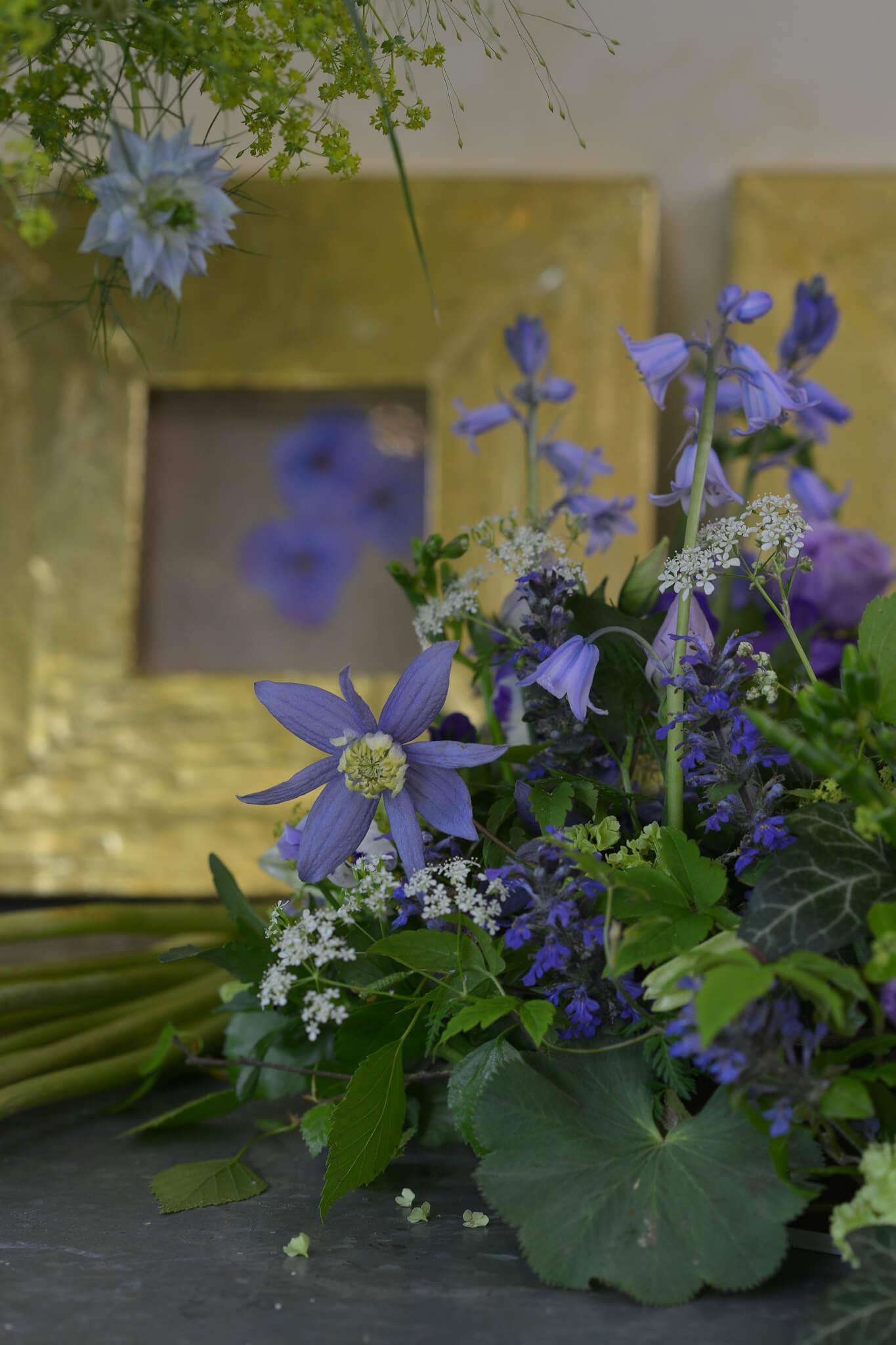 Blaue Blumen Kempten