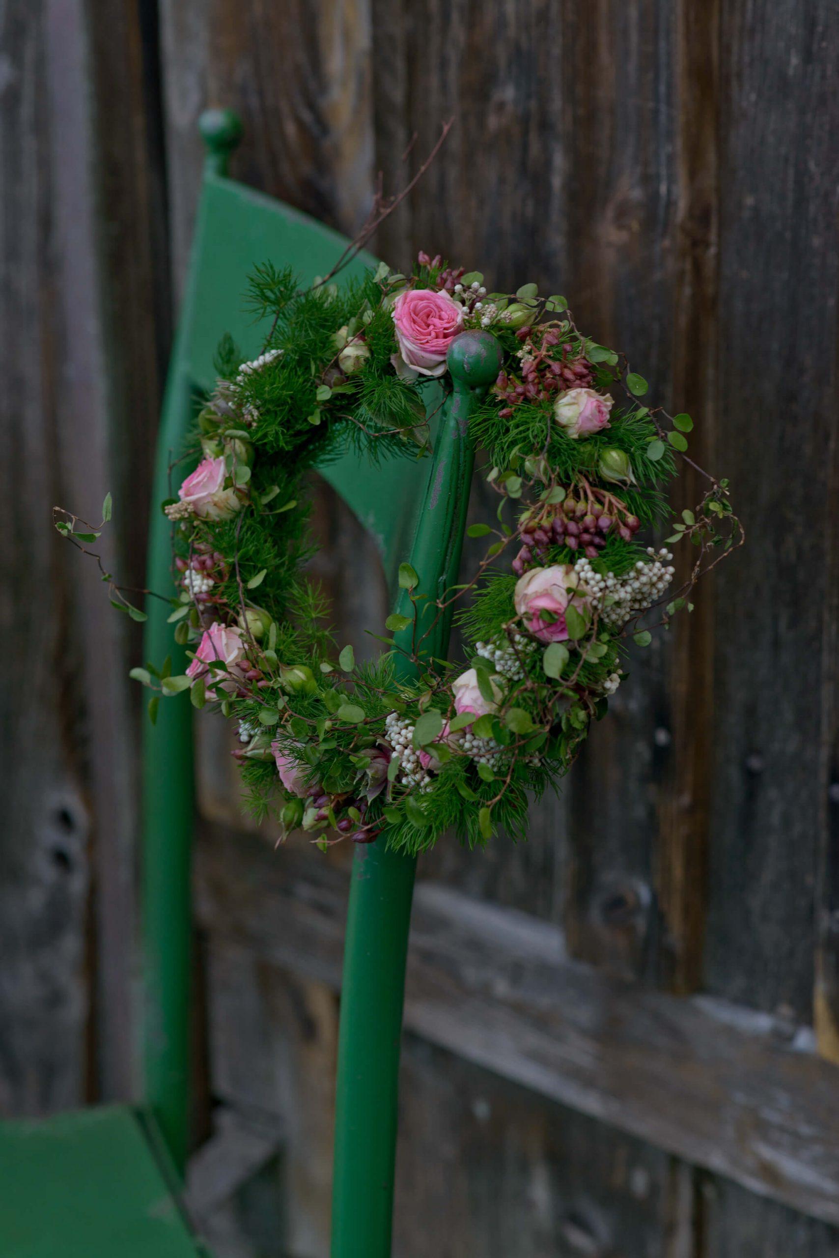 Bluetenkranz Hochzeit Brautjungfer