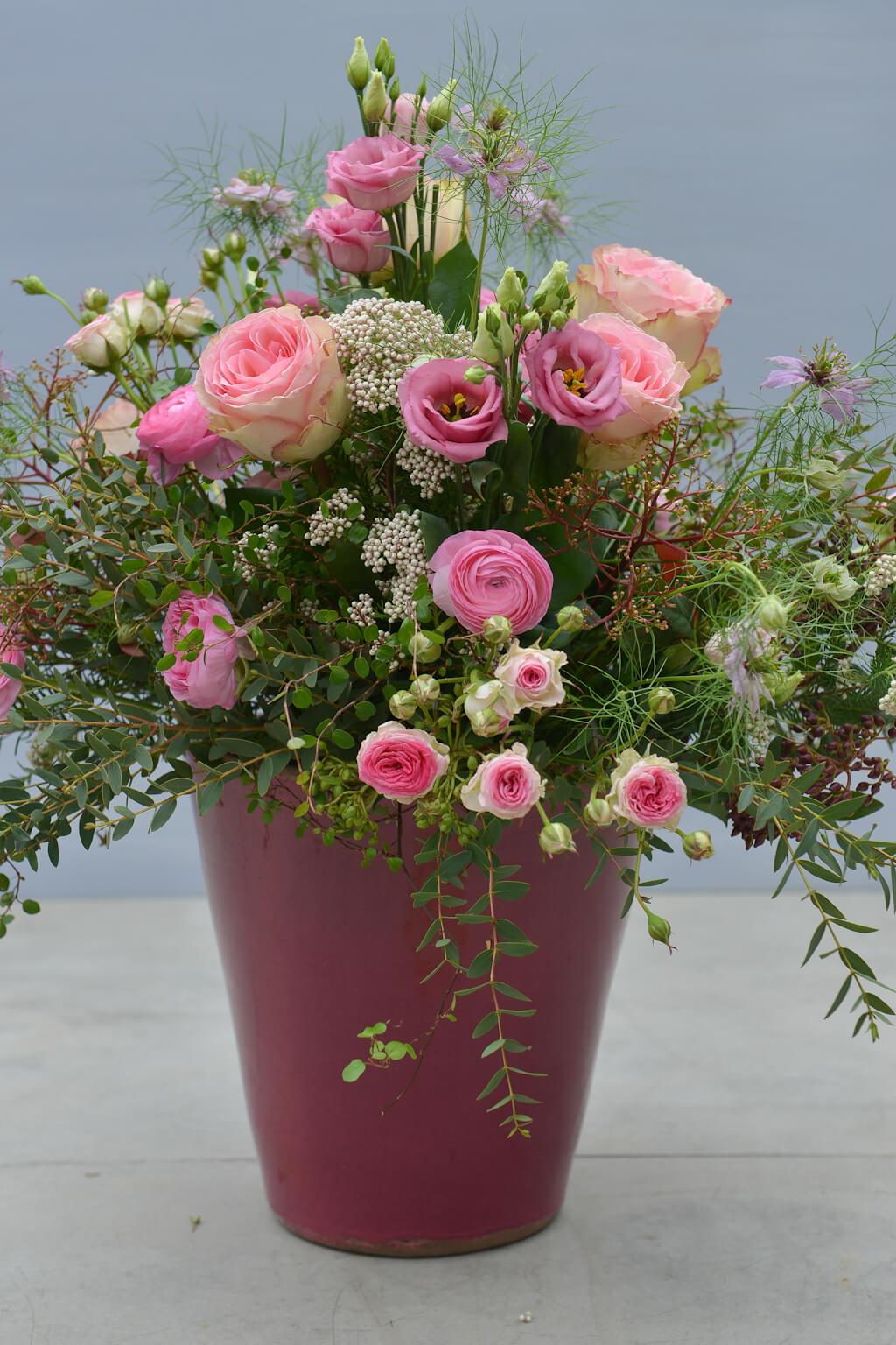 Blumen Deko Empfangsraum