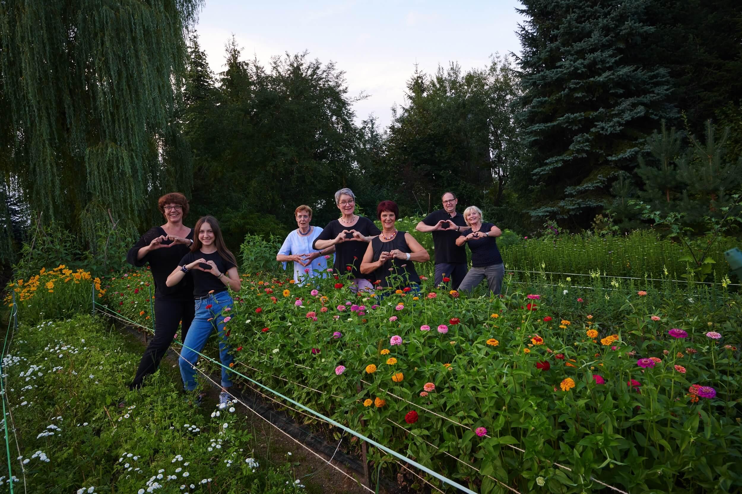 Blumen Hiedl Team Mit Herz
