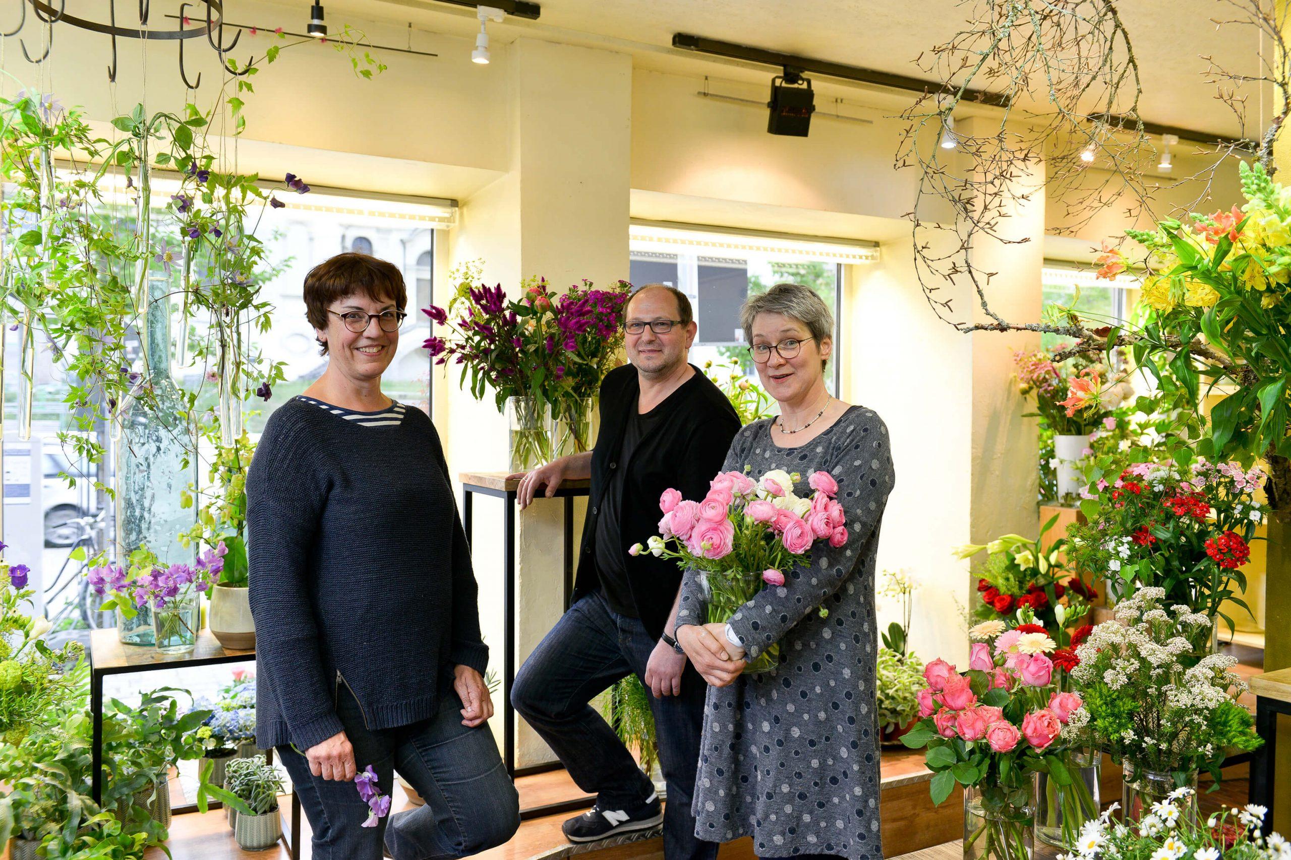 Blumen Hiedl Team