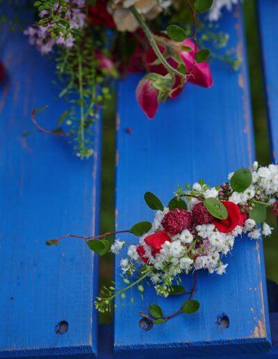 Braeutigam Ansteckblumen Romantisch