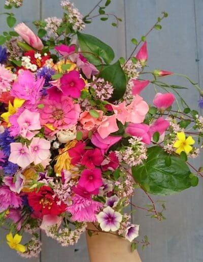 Brautstrauss Naturblumen
