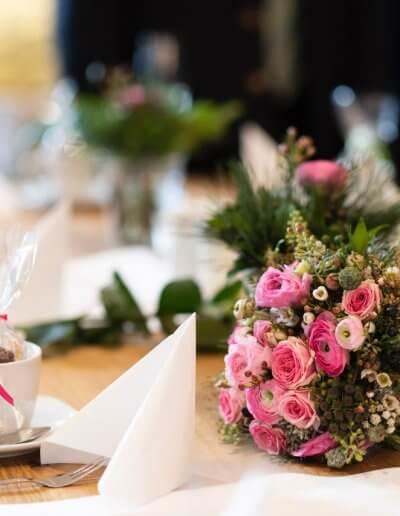 Brautstrauss Pink Rosa Ranunkeln