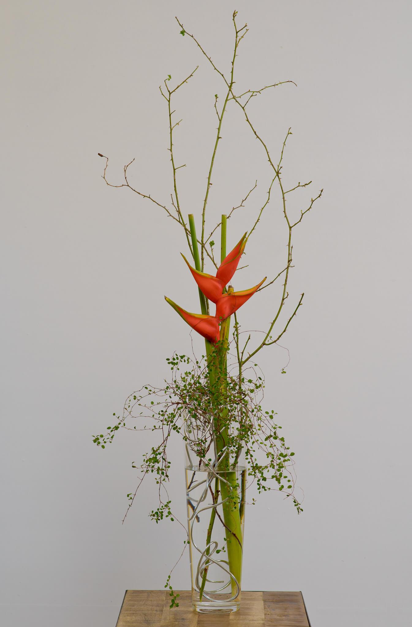 Elegante Blumendeko Geschaeft