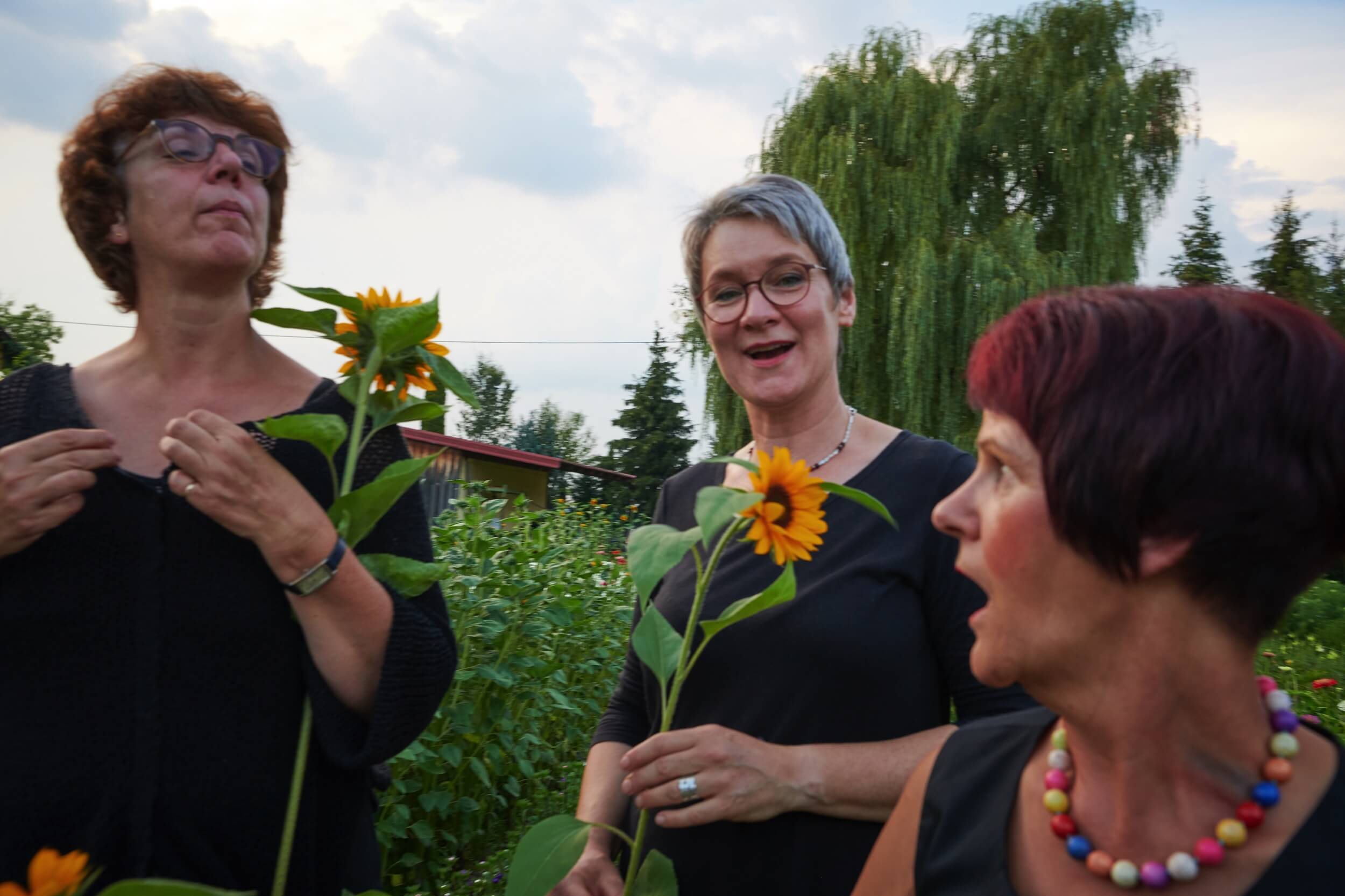 Floristinnen Bei Gertrud Koesel