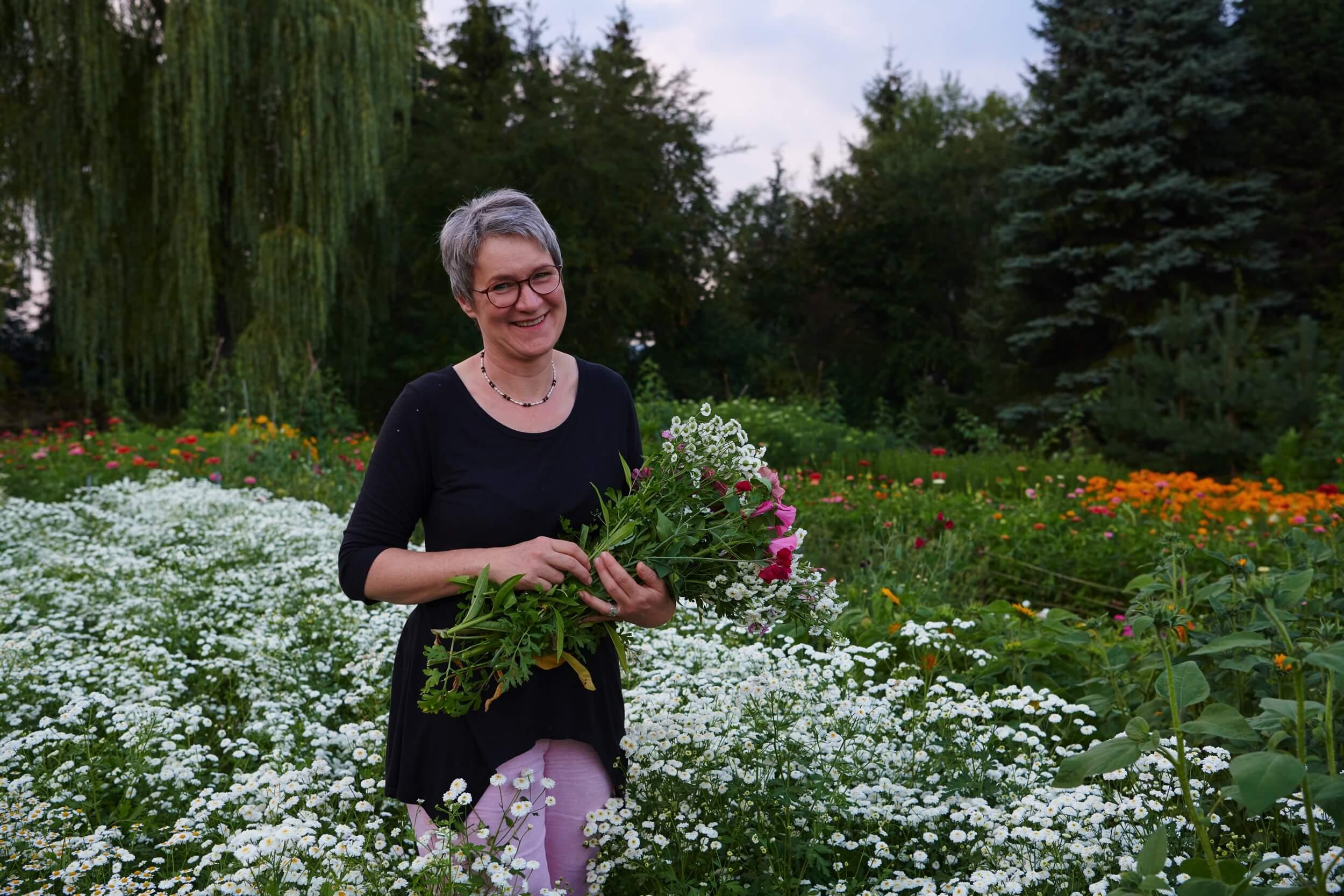 Gertrud Koesel Blumen Aus Eigenem Garten