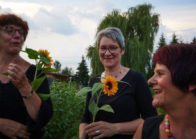 Gertrud Koesel Mit Team